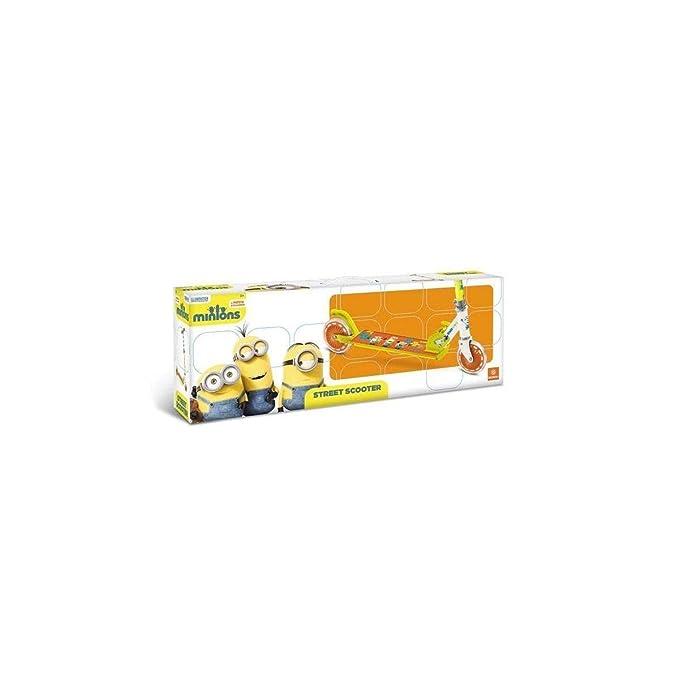 Minions - Patinete de aluminio con 2 ruedas (Mondo Toys 28132)