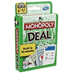 A fast-paced, totally addictive card game that you can play in minutes!. Deal and steal your way to success - just collect 3 property sets to win. Sounds easy. but beware the dreaded Debt Collectors and Deal Breakers, which can flip your fortunes in ...