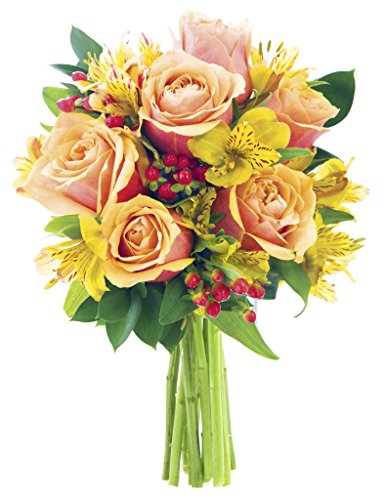 KaBloom All-Spice Bouquet of Red Roses