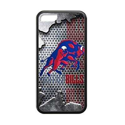 Hoomin Cool Buffalo?Bills HD Pic iPhone 5C Cell Phone Cases Cover Popular Gifts(Laster Technology)