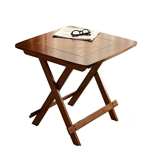 Mesas de comedor Mesa Plegable de Madera - 4 - Pesados pies ...
