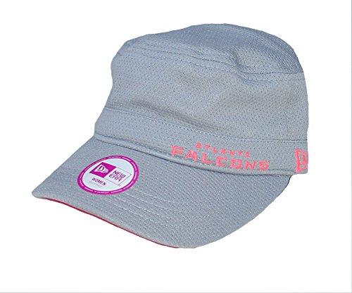 New Era Cap Company, Inc. Atlanta Falcons Women's Military Style Hat Cap - Gray And Pink by New Era Cap Company, Inc.