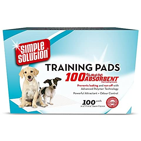 Simple Solution Economy Training Pads, Pack Of