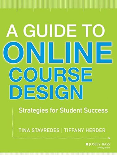 A Guide to Online Course Design: Strategies for Student Success PDF