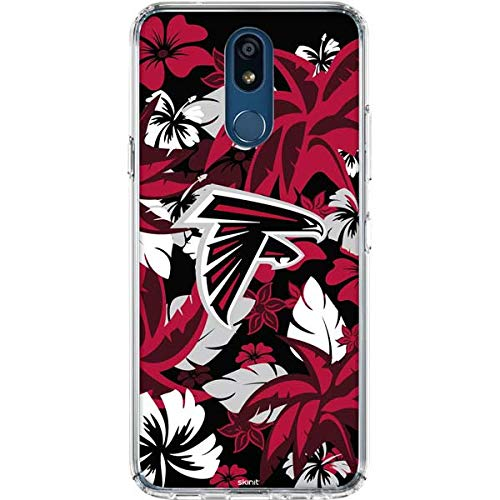 - Skinit Atlanta Falcons Tropical Print LG K30 Clear Case - Officially Licensed NFL Phone Case Clear - Transparent LG K30 Cover
