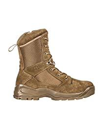 "5.11 Men's ATAC 2.0 8"" Tactical Side Zip Military Boot, Style 12393, Dark Coyote,"