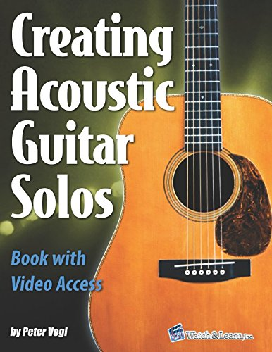 Creating Acoustic Guitar Solos Book with Video Access