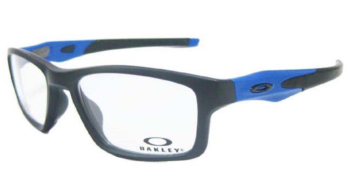 OAKLEY オークリー メガネ フレーム CROSSLINK MNP クロスリンク MNP OX8090-0955 サテンブラック /サテンブルー   B07111465F