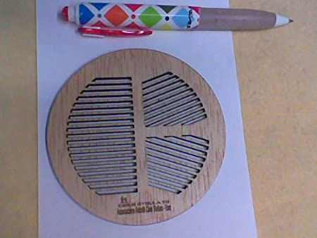 Amazon.com : Bahtinov focus mask Custom made to your scope in plywood birch by Laser cutting- 14