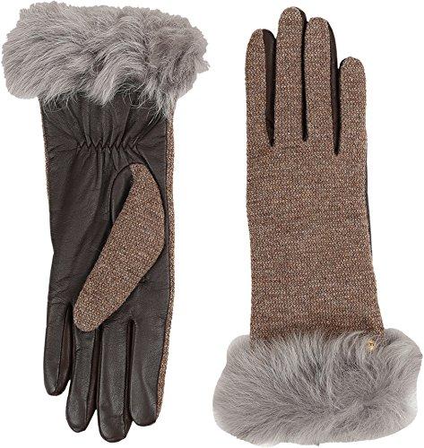 UGG Women's Smart Fabric Gloves w/ Toscana Trim Stormy Grey Multi MD