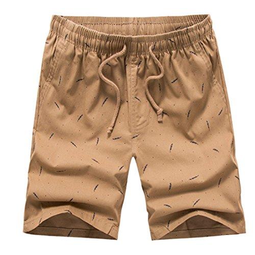 nataci Men Pantalones Ai cortos Sweat de moichien Trunks Loose ZZ1wq8