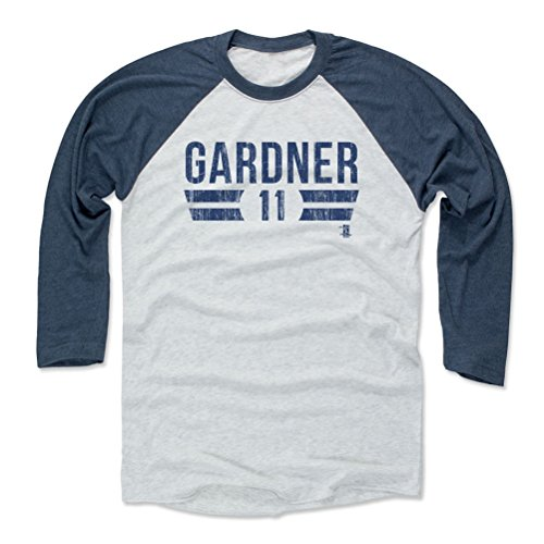 500 LEVEL Brett Gardner Baseball Tee Shirt Small Indigo Ash - New York  Baseball Raglan 7079bf8d81c