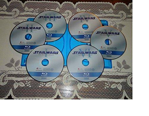 MINT Star Wars Saga Complete 1-6 Blu-ray Set Episodes I,II,III,IV,V,VI (NO DVDs)