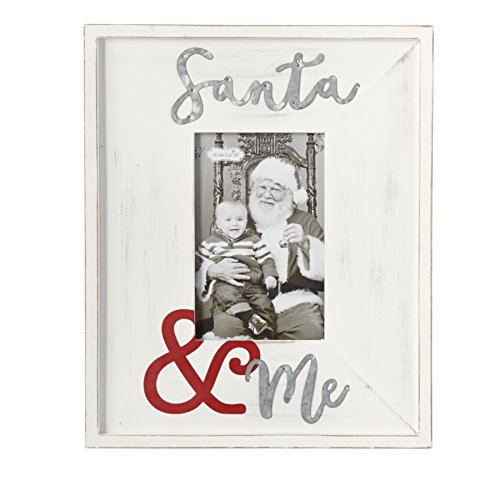 Mud Pie Distressed Wood Santa 4