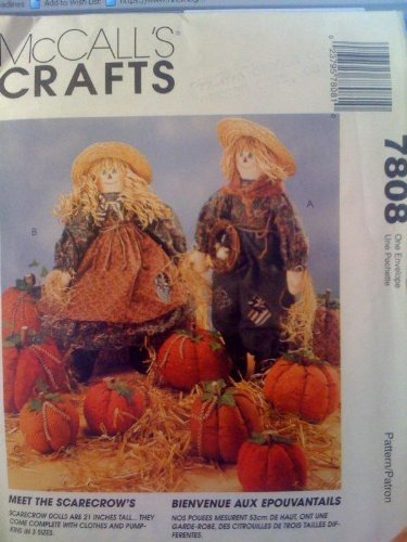 McCall's Crafts #7808 Girl, Boy 21