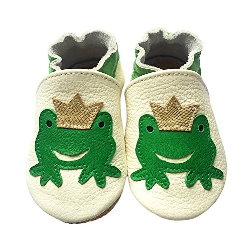JINZFJG-SX Cute Styles Genuine Leather Baby Boys Soft Shoes Infant Booties Baby Boys Girls First Walker Toddler Shoes ()