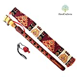 Armenian DUDUK Apricot Wood Armenian Oboe Balaban Professional Woodwind Instrument for intemediate skill level - Pomegranate style - Gift national case and pomegranate necklace, Playing Instruction