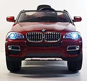 Ride on car LICENSED BMW-X6 WITH REMOTE CONTROL. BATTERY 12V total. MP3. ELECTRIC KIDS CAR. RIDE ON TOY for boys and girls from 3 to 5 years old. MP3.
