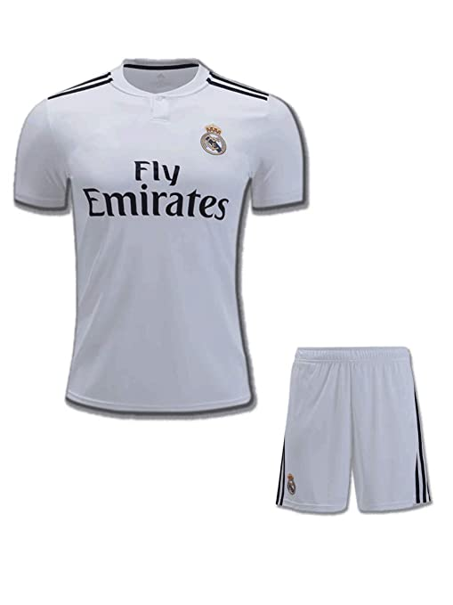 premium selection 6c3aa 1ab74 Buy DBS Real Madrid Home Jersey with Shorts White Online at ...