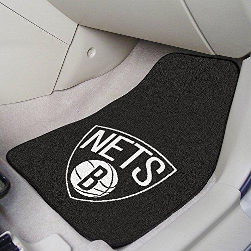 (Brooklyn Nets 2-pc Carpet Car Mat Set)
