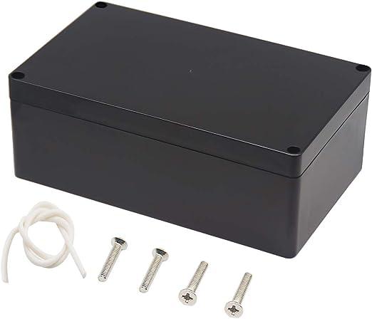 LeMotech ABS Plastic Electrical Project Case Power Junction Box Project Box ...