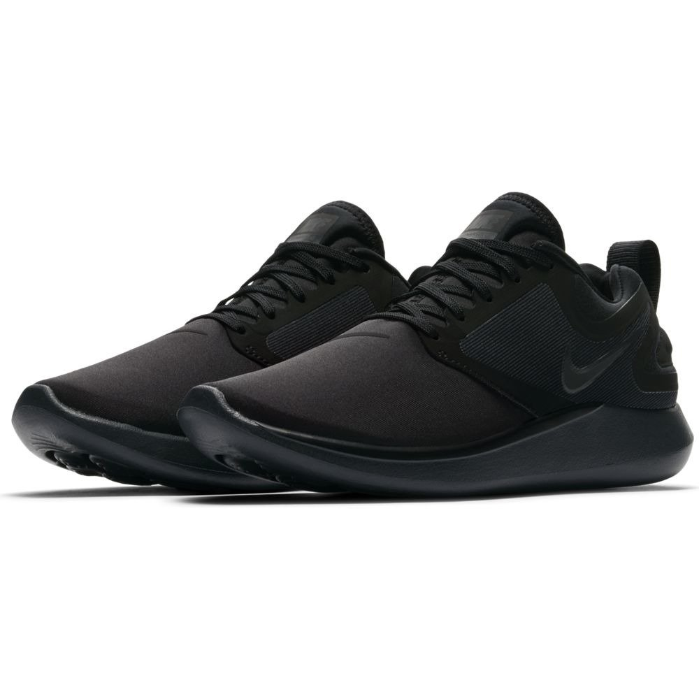 NIKE Womens Lunarsolo Running Trainers Aa4080 Sneakers Shoes B074TBN4SH 10 B(M) US|Black/Black-anthracite