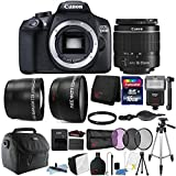Cheap Canon EOS 1300D / T6 18MP Digital SLR Camera 18-55mm Lens and Ultimate Accessory Bundle