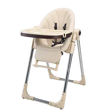 Asiento Elevador para bebé Silla Alta para bebé Plegable y ...
