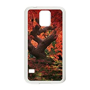 SOPHIA Phone Case Of Maple leaves real tree Unique Cool Painting Fashion Style For Samsung Galaxy S5 I9600
