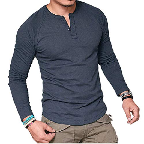 Chickwin Casual Camisa para Hombre, T Camisas Slim Fit Playa Hombres Manga Corta Transpirable Top Blusas de Trabajo Camiseta...