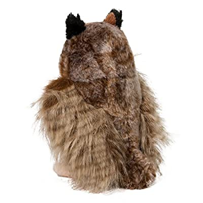 Douglas Einstein Great Horned Owl Plush Stuffed Animal: Toys & Games