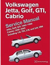 Volkswagen Jetta, Golf, GTI: 1993, 1994, 1995, 1996, 1997, 1998, 1999 Cabrio: 1995, 1996, 1997, 1998, 1999, 2000, 2001, 2002 (A3 Platform) Service Manual: Including 1.9l Tdi, 2.0l and 2.8l Vr6