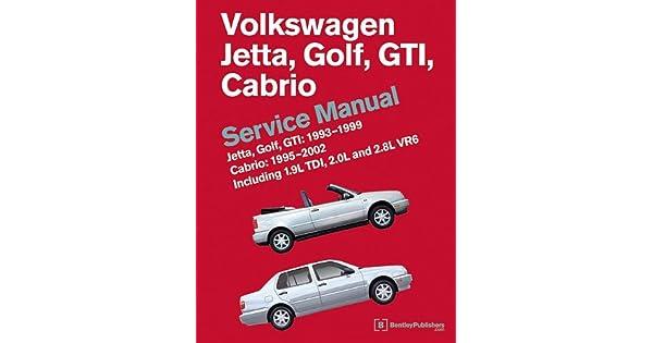 1995 1996 1997 1998 1999 2000 2001 VW Cabrio Body Repair Shop Manual w//Top Info