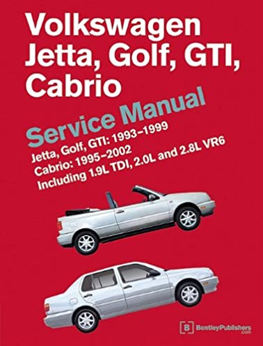 volkswagen jetta golf gti 1993 1994 1995 1996 1997 1998 rh amazon com 1999 VW Jetta Manual Online 1999 vw jetta owners manual pdf