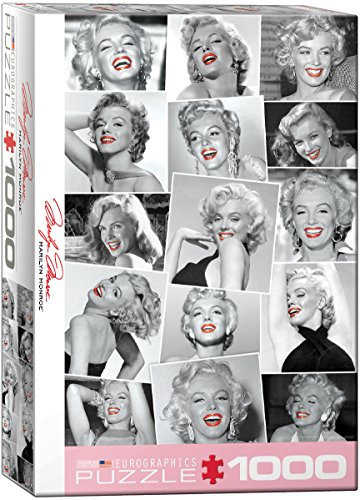 EuroGraphics Marilyn Monroe Red Lips (1000 Piece) Puzzle