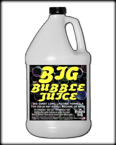 [1 Gal - BIG Bubble Juice - Enormous Long-Lasting Bubble Fluid] (Big Fog Machine)