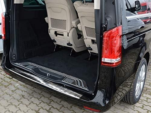 Fahrzeugspezifischer Ladekantenschutz aus Edelstahl mit 3D Abkantung AZ29000076