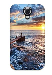 Tpu Protector Snap PKwwrNd27075NOyTE Case Cover For Galaxy S4