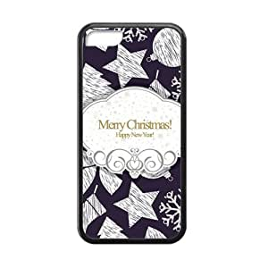 Merry Christmas fashion practical Phone Case for iPhone 5C(TPU) wangjiang maoyi