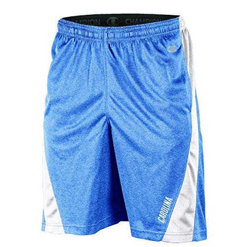 Shorts Mens Carolina North - NCAA North Carolina Tar Heels Adult Men Training Short with Contr, XX-Large, Navy Heather