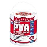 UniBond Super PVA Adhesive, Sealer and Primer Tin - 2.5 L by Unibond