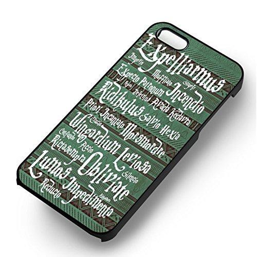 Harry Potter Tribal Spells pour Coque Iphone 6 et Coque Iphone 6s Case (Noir Boîtier en plastique dur) Y6L2UI