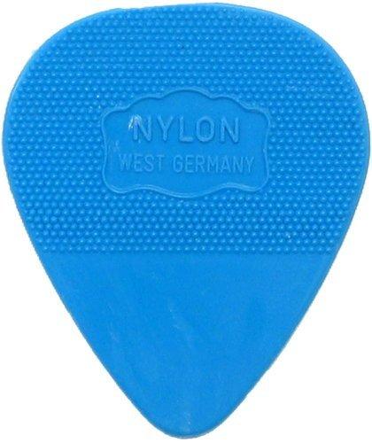 Herdim Blue Heavy Nylon Pick, 12 Pack marked West Germany