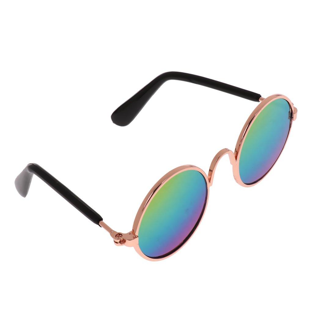 non-brand MagiDeal Lunettes de Protection UV Lunette de Soleil pour Petit Chien Chat d'Eté - ##1