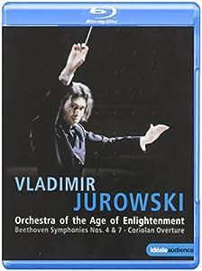 Beethoven: Symphonies Nos. 4 & 7; Coriolan Overture [Blu-ray]