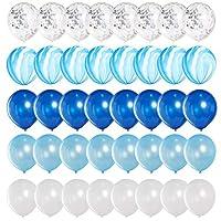 Mayen Marble Balloons Set