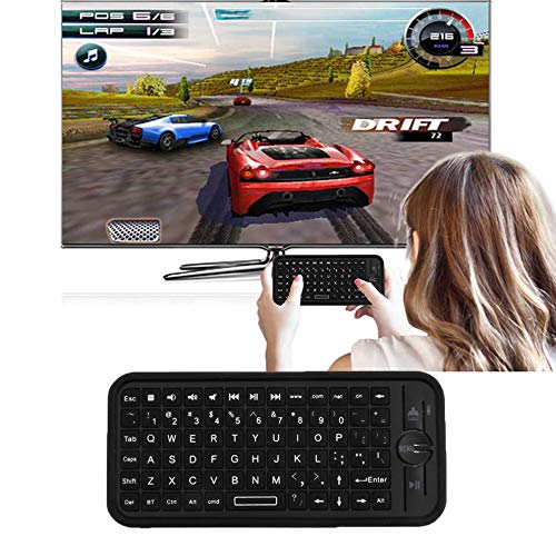 E.I.H. Pair of RenBen Joker Casual Sports Shoes iPazzPort KP-810-16B Mini Size Wireless 3.0 Keyboard Small Portable Handheld Keyboard for Android for
