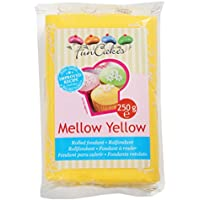 FunCakes Fondant, Color Amarillo Suave - 250 gr