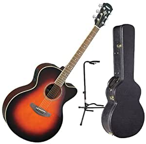 yamaha cpx500ii ovs full body acoustic electric guitar w hardshell case and guitar. Black Bedroom Furniture Sets. Home Design Ideas