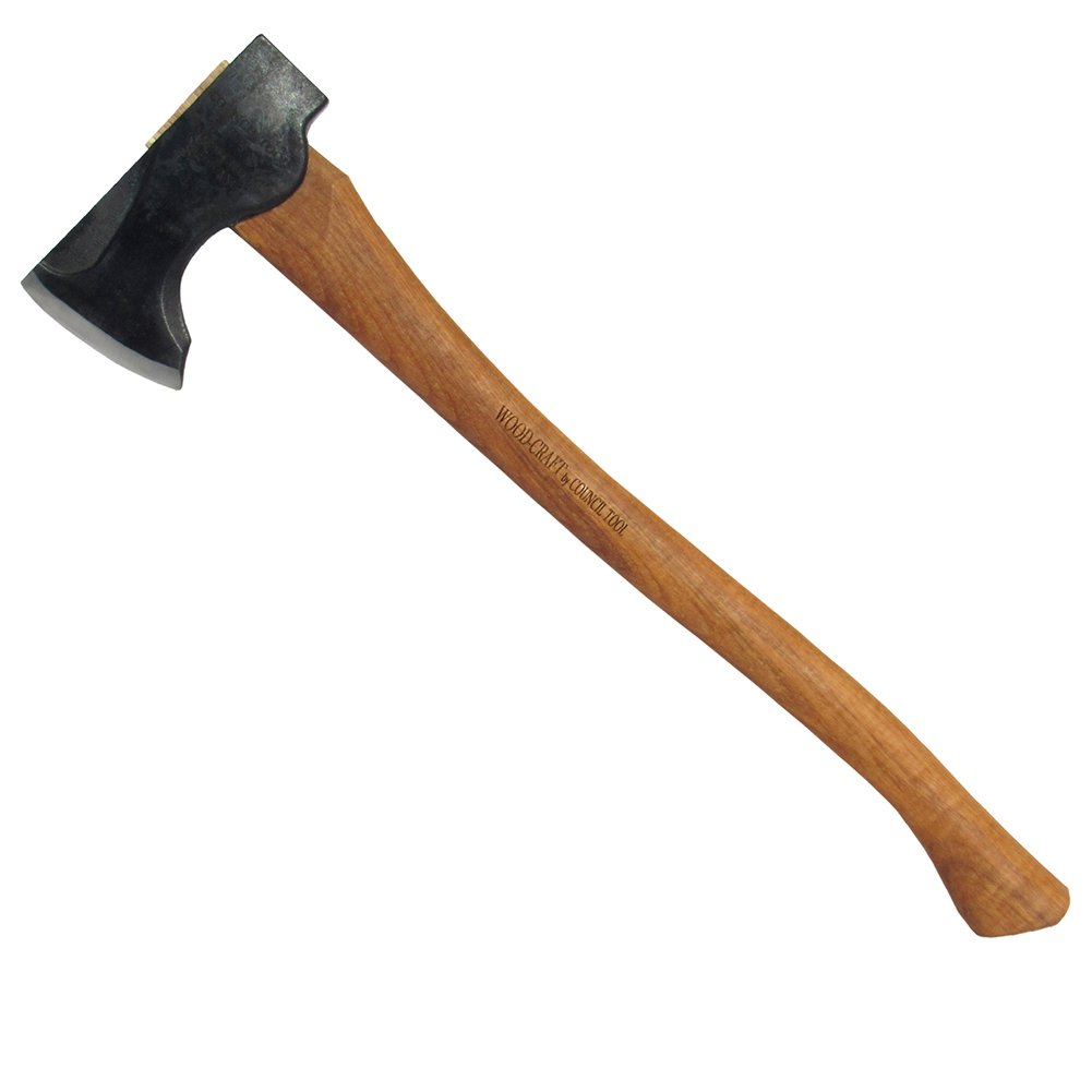 Council Tool 2# Wood-Craft Pack Axe, 24 Hickory Handle 24 Hickory Handle The Council Tool Company